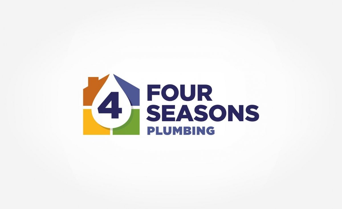 Logo design for Four Seasons Plumbing.