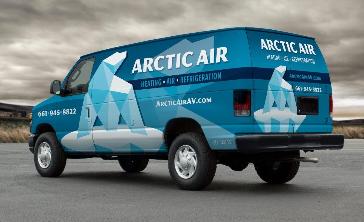 arctic air vehicle wrap design