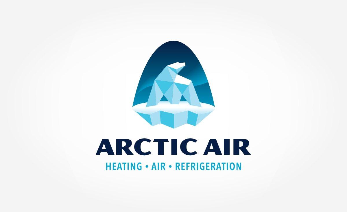 arctic air logo design