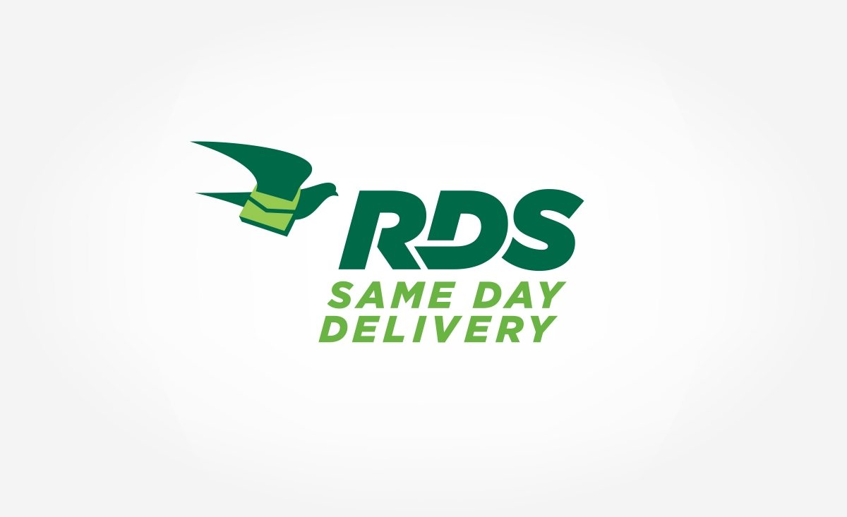 RDS Same Day Delivery Logo Design