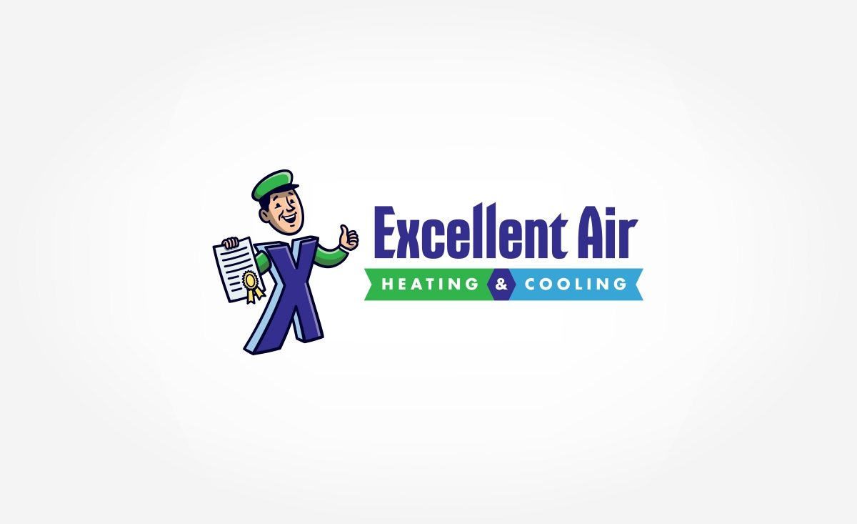 Logo Design for Excellent Air Heating & Cooling.