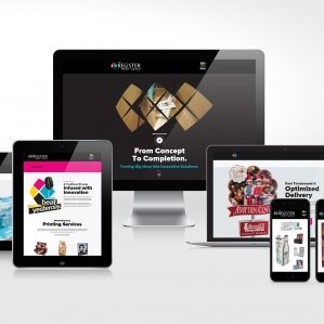The Register Print Group - Website Design