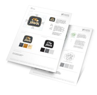 Standard Brand Identity Guideline Document.
