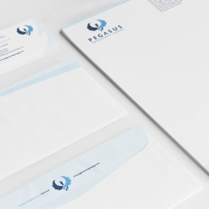 Stationery design for a medical group located in Flemington, NJ.