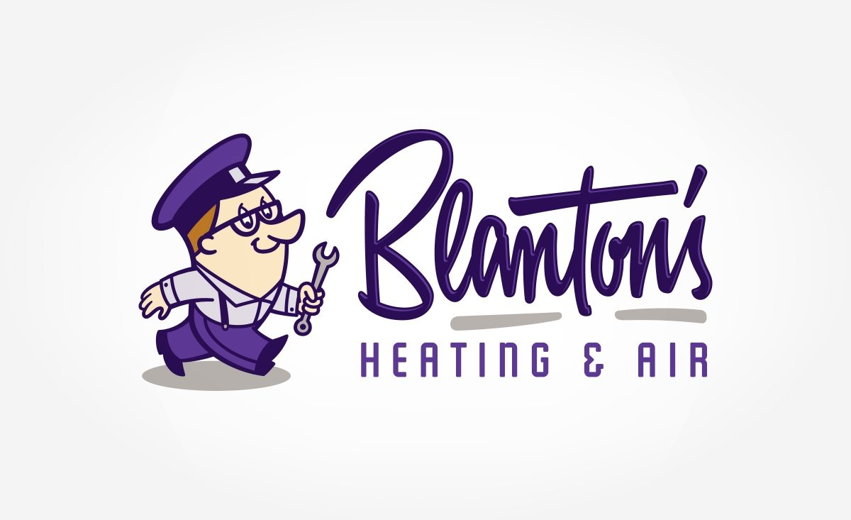 Vintage logo design a for a heating and air contractor in Fayetteville, NC.