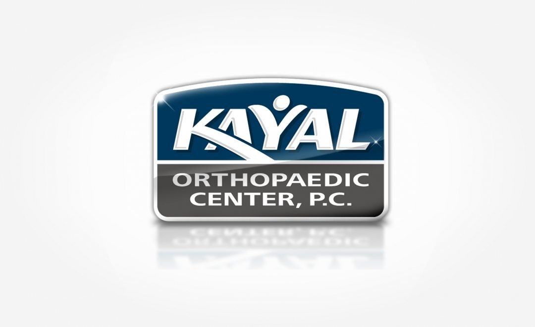 Logo, branding, web, and advertising for Doctor Kayal's Orthopaedic services.