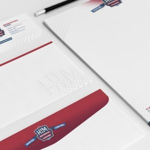 Stationery design and brand development for HVAC contractor located in Bridgewater, MA.