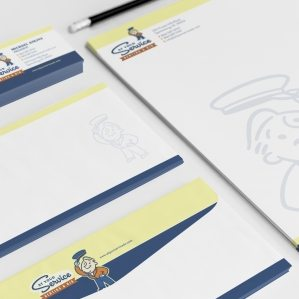 Stationery design for heating and air company in South Carolina.
