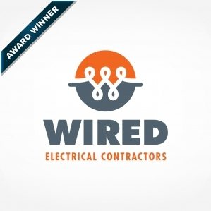 Award-winning logo design and corporate identity for an electrician in MA. Winner of Art Directors Club of NJ Award for Corporate & Promotional Design - Trademarks, Logos: Silver, 2014.