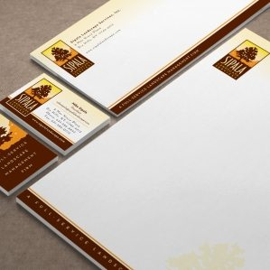 Stationery design for a landscaping company based out of Dix Hills, NY.