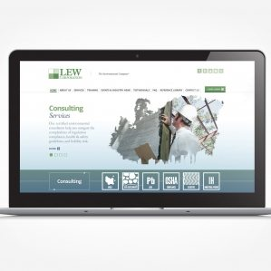 Web design for an environmental inspection and consulting company located in Moutainside, NJ