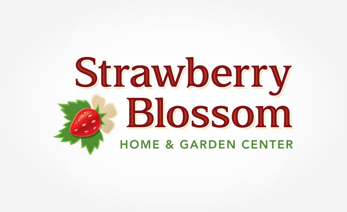 Logo design for home and garden center that has two large retail locations in New Jersey.