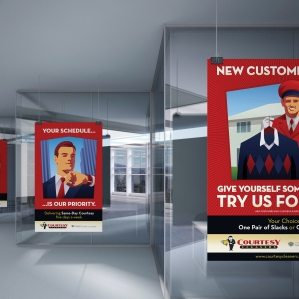 Design and printing of in-store POP displays