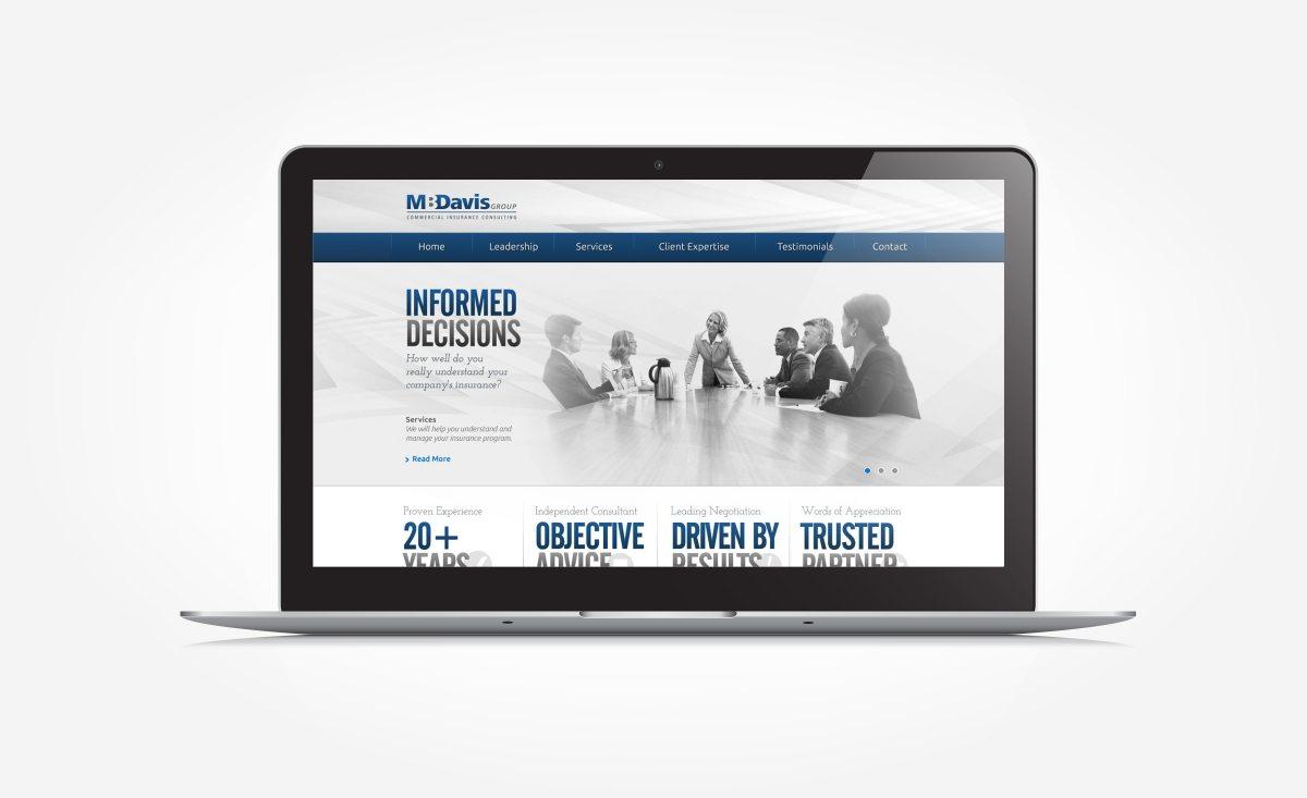 Web design for an insurance company in Mt. Arlington, NJ.
