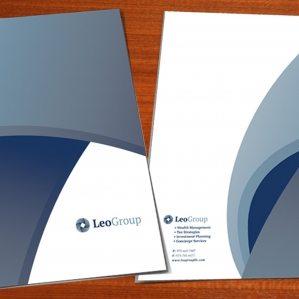 Pocket folder design and printing