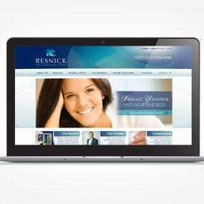 Web design for a dentistry in Bergen, NJ.