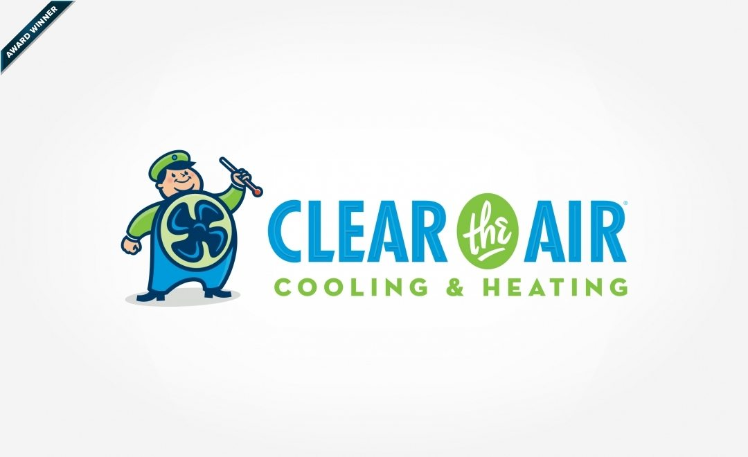 Award-winning logo for a HVAC company in Texas. Winner of Art Directors Club of NJ Award for Corporate & Promotional Design - Trademarks, Logos: Brand, Bronze, 2014.