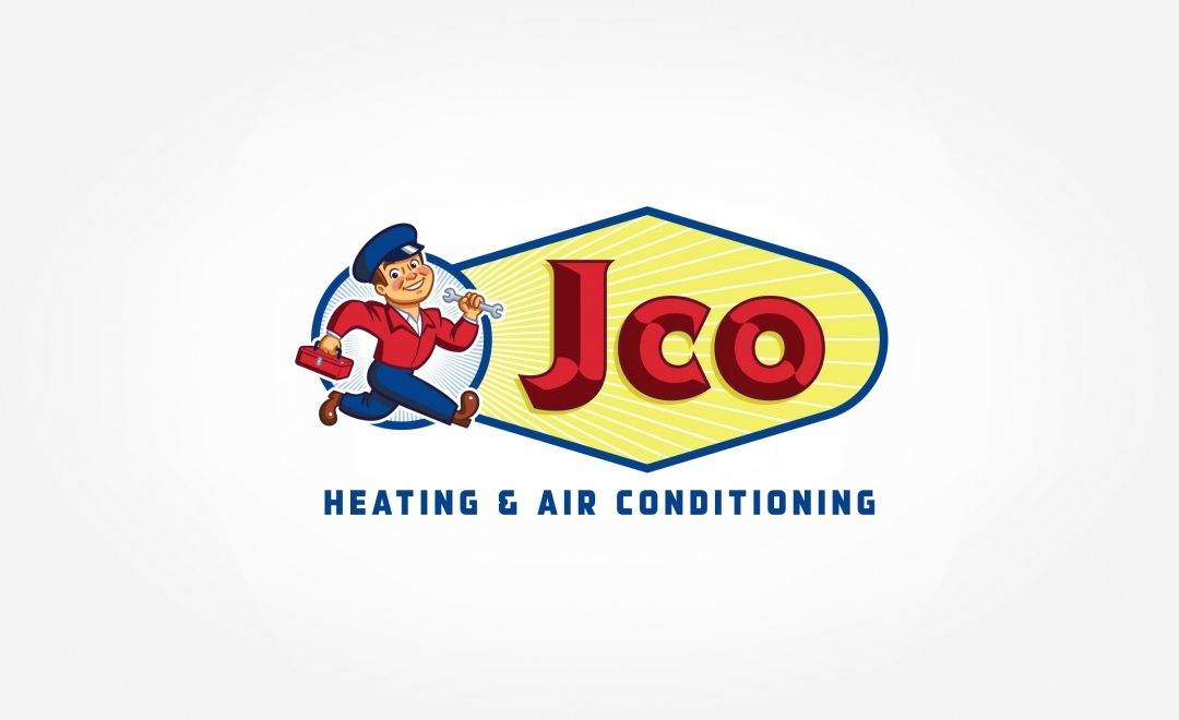 Logo for a HVAC company in Oregon.