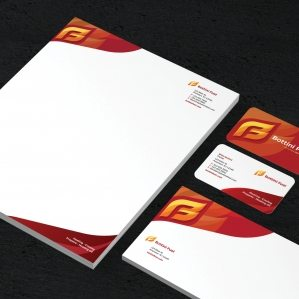 Stationery for a propane and oil company in New York.