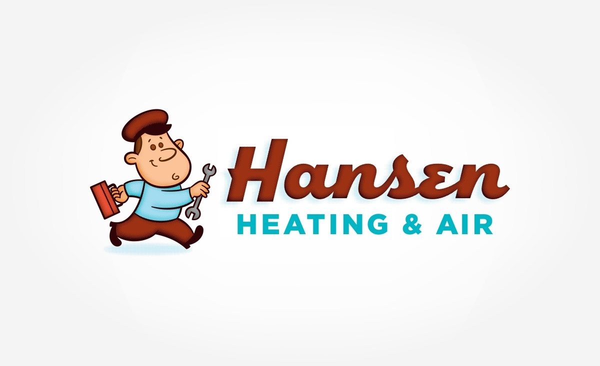 Logo for a heating and air conditioning contractor in Mobile, AL.