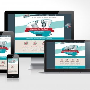 Website design for 1st Choice Heating & Air Conditioning located in Howell, New Jersey.