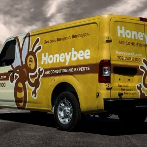 best truck wraps, award winning truck wraps, hvac truck wraps, heating and cooling truck wrap, best plumbing company logo, HVAC logos