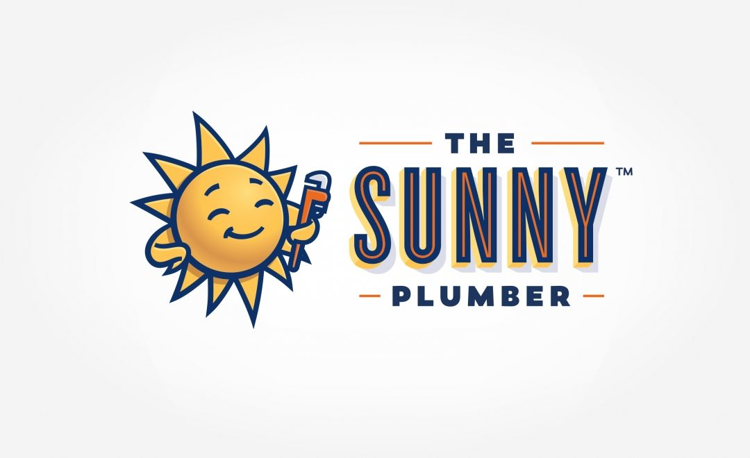 HVAC and plumbing Logo design and branding for this plumbing contractor in Arizona.