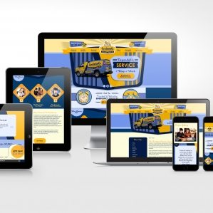Website design and development for Fontenot's Cooling & Heating in Broussard, LA.