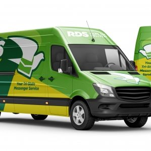 RDS Same Day Delivery Vehicle Wrap