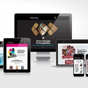 The Register Print Group - Website Design